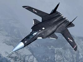 Su-47 Berkut by Crewshay