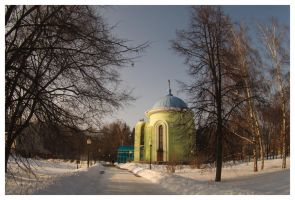 Chapel in the park by ViKey