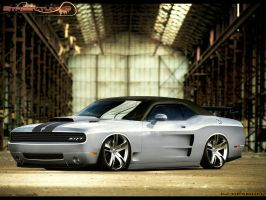 Dodge Challenger SRT by cjdesigner