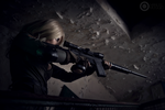 Sniper Wolf - Concentrating. by LadyDaniela89