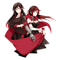 RWBY | Henceforward x BlaCJaM | Ruby by MarkEwe