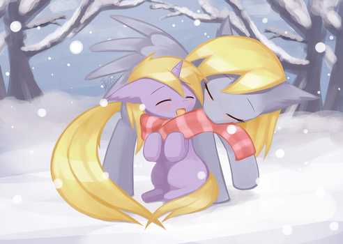Commission Cold day by HowXu