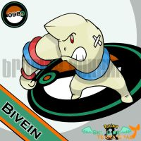 098. Bivein by bromos-pokemon