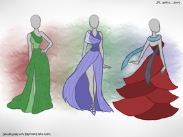 Dresses by skurshecia