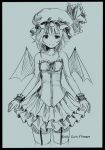 remilia scarlet with corset dress by kareyare
