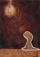 ACEO - ThisDyingDog by SuzanneLaither