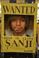 One Piece: Sanji Wanted by jei