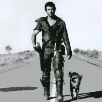 Mad Max Mel Gibson Paint By Number Art Kit by numberedart