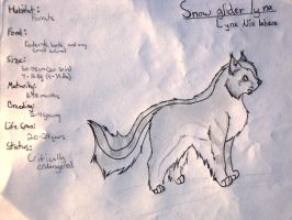 Snow Glider Lynx by 7MoonWillow