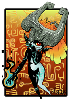 Midna the Mischievous Imp by zynwolf