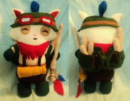 Captain Teemo Plushie by XOFifi