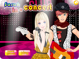 Dressup for Singer in The Concert by kute89