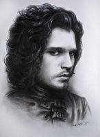 Jon Snow by NeFreet