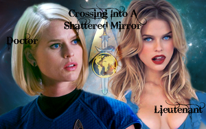 Crossing Into A Shattered Mirror - Carol Marcus by LLAP