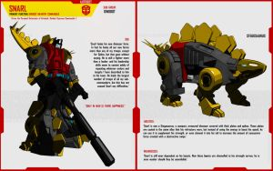 DINOBOT SNARL by F-for-feasant-design