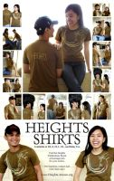 Heights Shirt Poster by jpaul