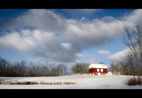 red barn by BillyRWebb