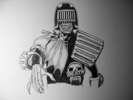 Judge Death Day 2 by 12jack12