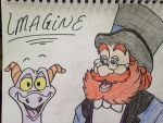 Figment and Dreamfinder by qeust24