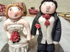 Wedding Toppers - Polymer Clay 2 by tyney123