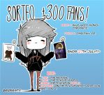 Draw/Giveaway + 300 FANS on FB. by Greesty