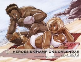 Heroes and Champions - July 2012 by aimo