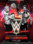WWE Battleground PPV Poster BW by SoulRiderGFX