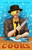 Sanji is the One Who Cooks by juugatsuhoshi