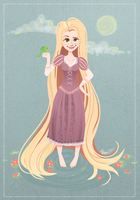 Rapunzel by Alyssizzle-Smithness