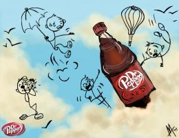 Mt. Dr. Pepper by NocturnalCity