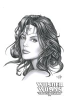 Wonder Woman Commission by Carl-Riley-Art
