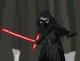 Star Wars - Kylo Ren by Juggernaut-Art
