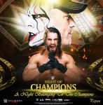 WWE Nights Of Champions Poster by KingPapon