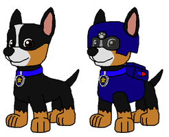 Noah the Police Pup by Wolf-Prince-Leon