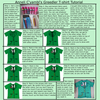 Greedler T-shirt Tutorial by AnneliCyambl