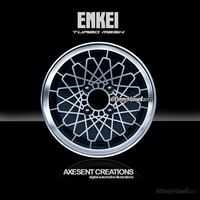 ENKEI Turbo Mesh ( digital illustration) by Axesent