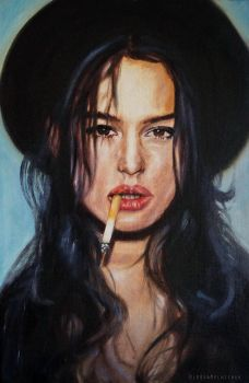 Monica Bellucci by OlesyaMelnichuk
