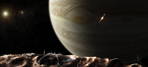 150428 - View of Jupiter from Metis by Jack-Kaiser