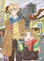 ..Hetalia: a song of snow.. by Hetiru