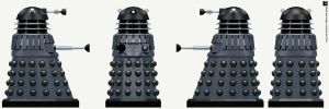 Hive Black Dalek by Librarian-bot