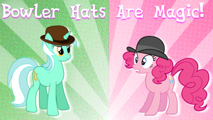 Bowler Hats Are Magic by XxAVGPxX