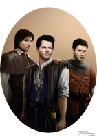 The Adventures of Team Free Will by Lillilolita