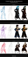 COMM: Character Still Art Progressions - Round I by Empyrisan