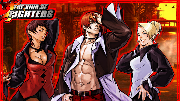 Iori and the She-Devils by topdog4815