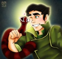 Bolin and Pabu by applejaxshii