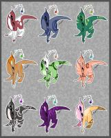 Creature Adopts_Set1OPEN by LilLoate