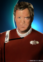 James T. Kirk by SarlyneART