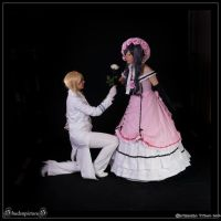 Just a flower for my dear lady by Mitsuko-Vicious