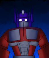 Optimus Prime by EarthCookies