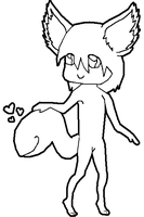 Tailmouth Love Lineart (MSP Friendly) by hoovesandswords